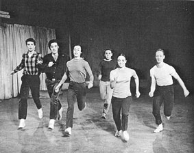 © Yvonne Rainer, We shall run, (1963)
